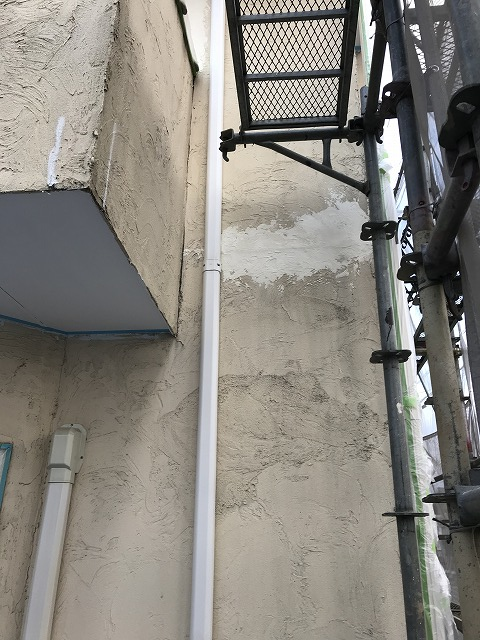 盛岡市向中野外壁補修塗装工事