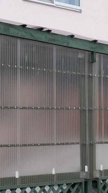 盛岡市ポリカ屋根補修