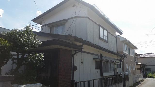 盛岡市にて屋根塗装工事の現地調査に伺いました。