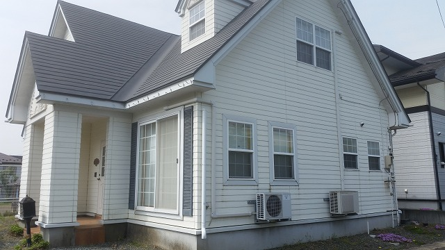 滝沢市にて外壁・屋根塗装工事の現地調査にお伺いしました。
