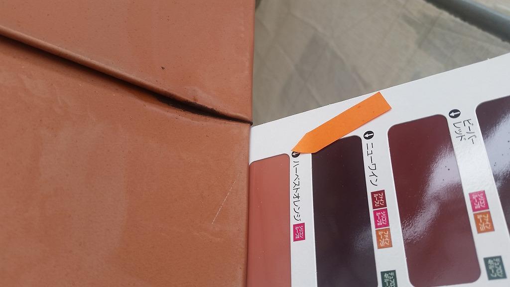 盛岡市にて屋根塗装工事を行いました。