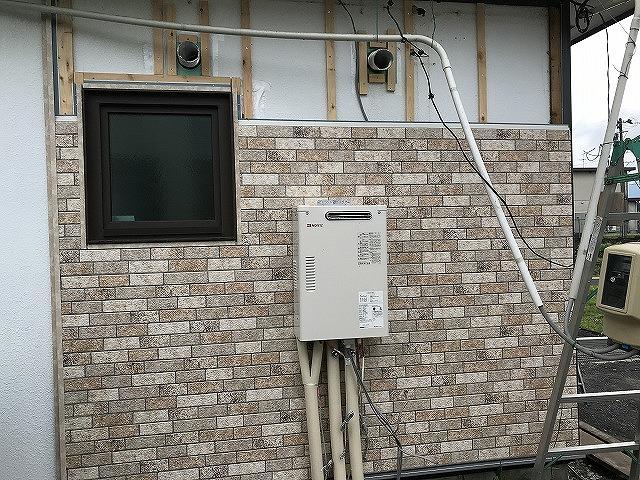 盛岡市で外壁リフォーム工事と設備交換工事を行いました