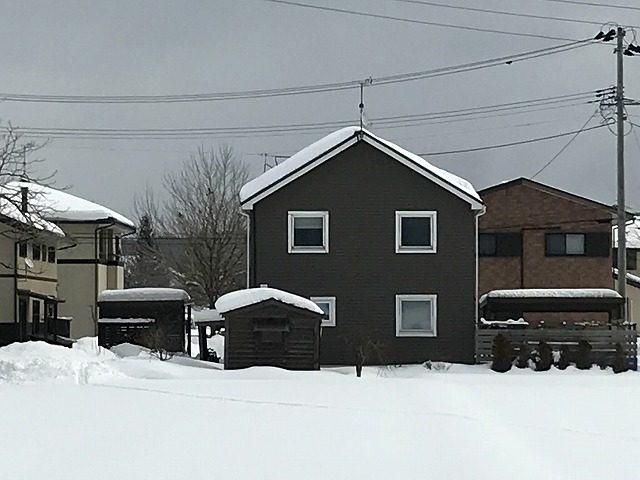 アスファルトシングル屋根材施工例