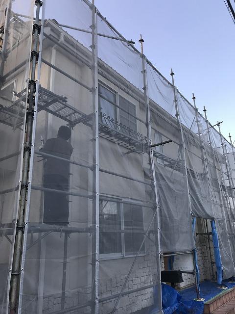 盛岡市向中野外壁工事