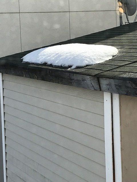 雪止めの要らない屋根材