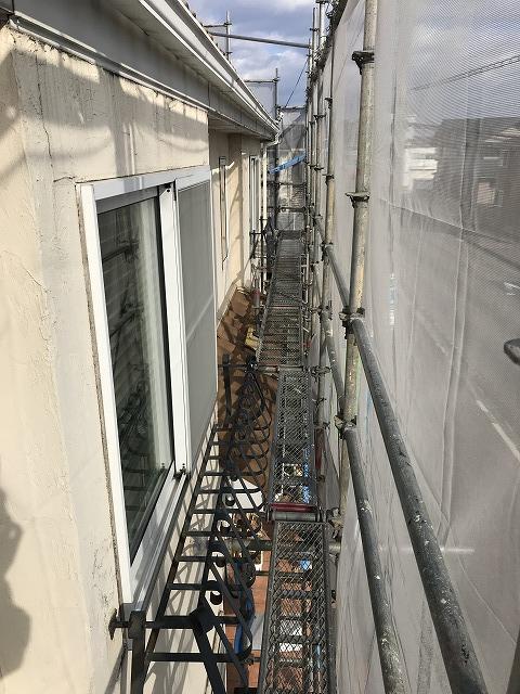 盛岡市向中野外壁塗装工事